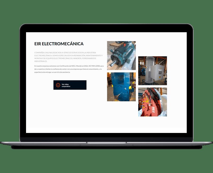 EIR Electromecánica - Diseño y Desarrollo Web