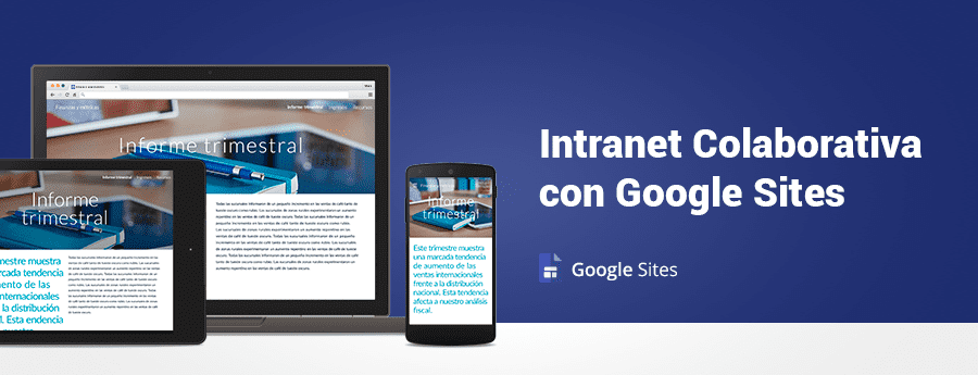 Intranet Colaborativa con Google Sites